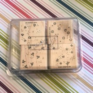 Stampin' Up! Set of 4 Small Pattern Stamps